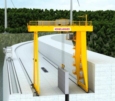 Konecranes Hydro power cranes