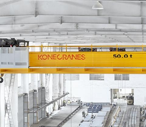 Parts of an overhead crane | Konecranes