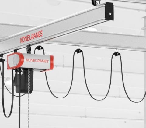 XA Aluminium Workstation Cranes | Konecranes