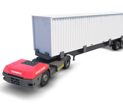 Automated Terminal Tractor | Konecranes