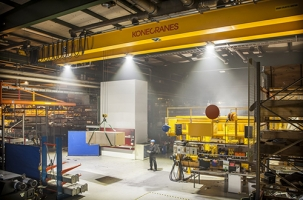 Led lighting retrofit for cranes image