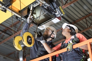 Crane inspections and preventive maintenance