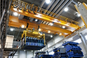 Die handling application crane