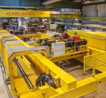 Konecranes technicians perform crane modernization