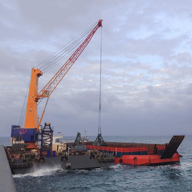 Cranes on Barge   Konecranes