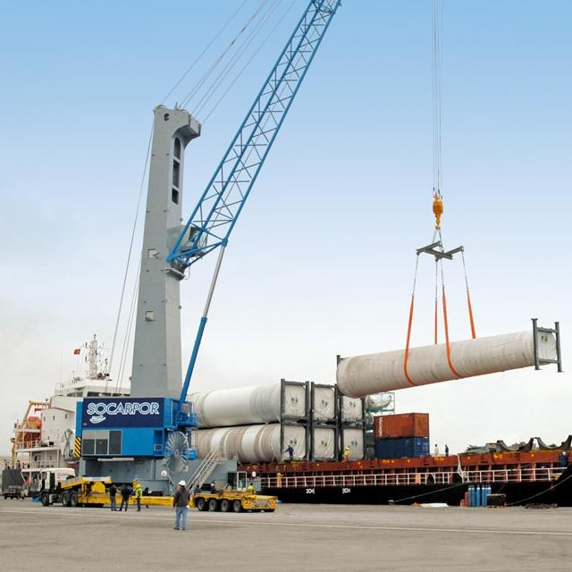 Model 7 Mobile Harbor Cranes | Konecranes